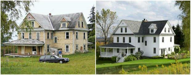 9 вдохновляющих примеров переделки домов