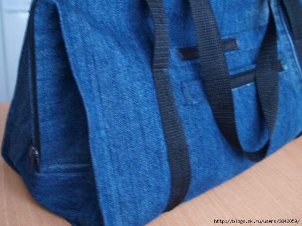 Сумка из джинсов,  МК