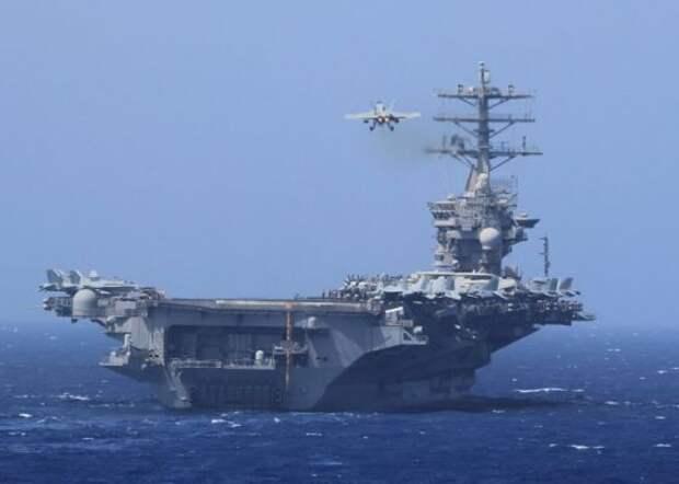 Боевые корабли США вошли в Персидский залив