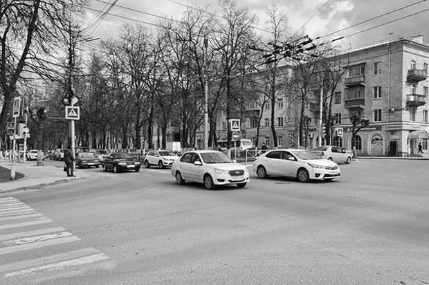 Так выглядит движение на рязанских улицах