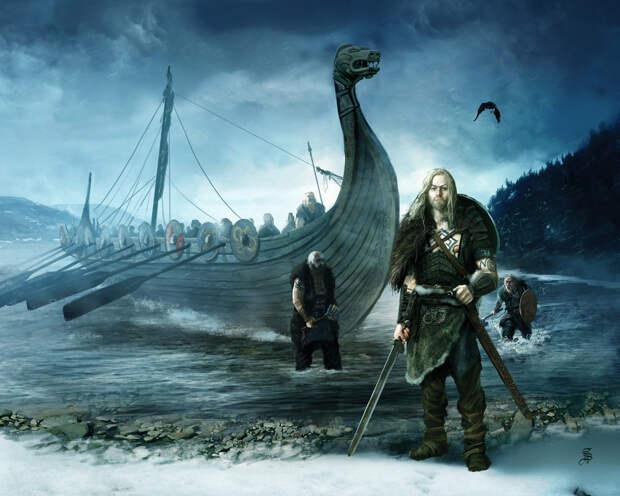 Детали корабля викингов найдены под Смоленском