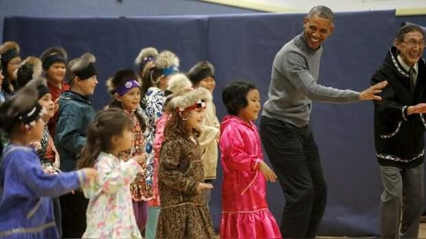 WP: Среди мировых лидеров Барак Обама - лучший танцор