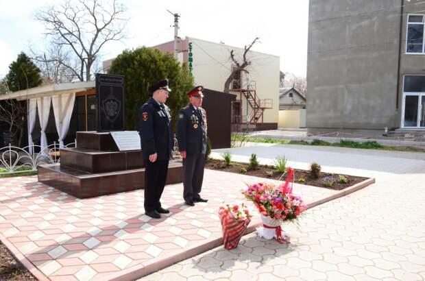 В Черноморском районе прошло мероприятие, приуроченное ко Дню ветеранов органов внутренних дел