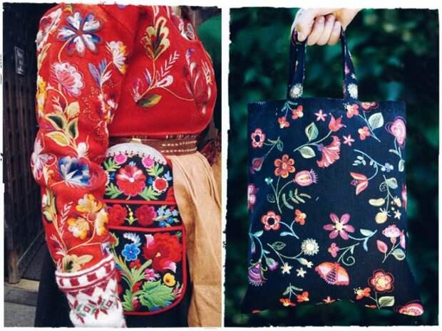 Скандинавская вышивка (примеры)