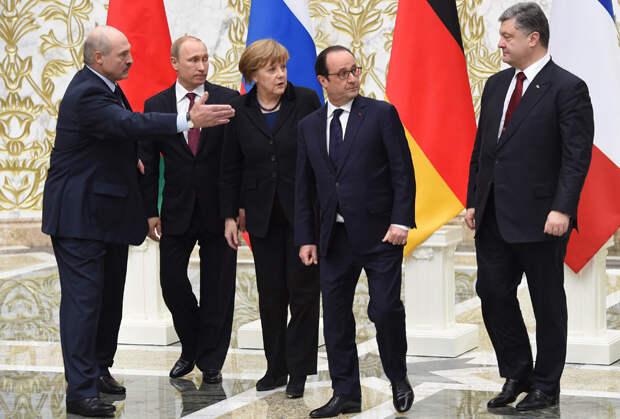 Минский саммит в «нормандском формате»: главы четырех государств и Петр Порошенко