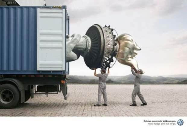 Креативный обзор: архитектура и скульптура на пользу рекламе