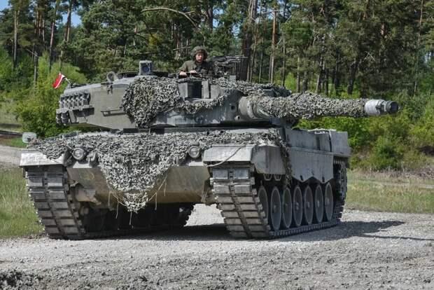 Турецкие СМИ: немецкий Leopard 2A4 провалился в реальной боевой обстановке