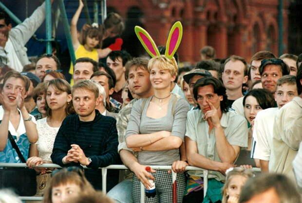 """Конкурс """"Мисс Москва"""" 1999 года. (28 фото)"""