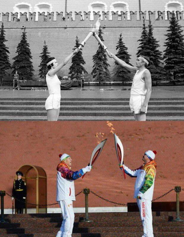 Олимпиада-1980 vs Олимпиада-2014