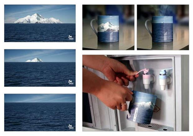 Все глобальное потепление в одной чашке
