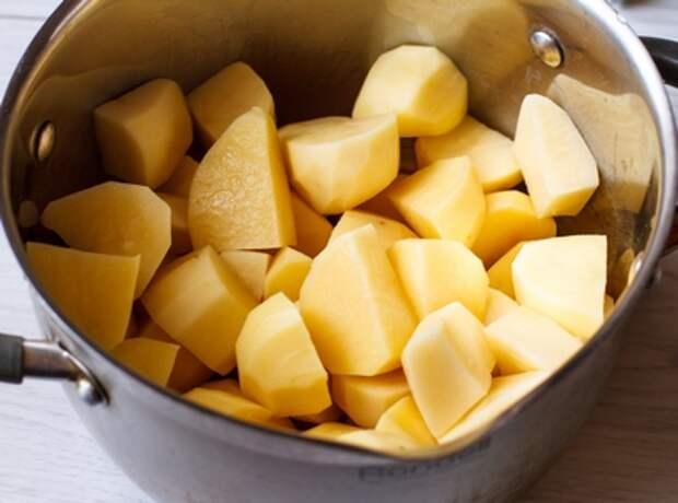 Режем картофель