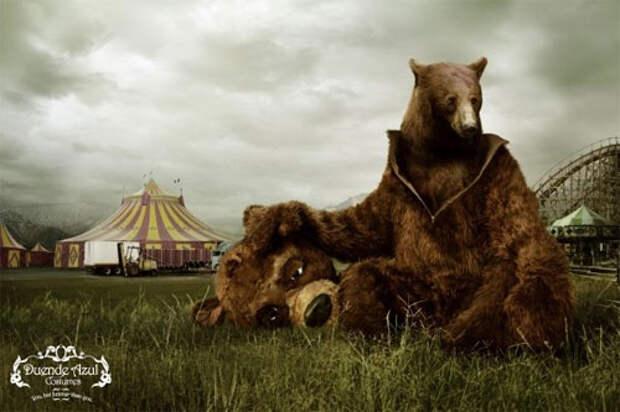 Зачем медведю костюм медведя?