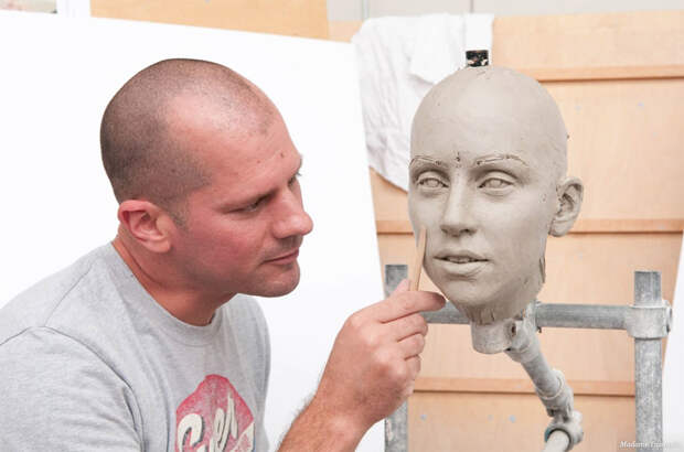 Как делают восковые фигуры Мадам Тюссо