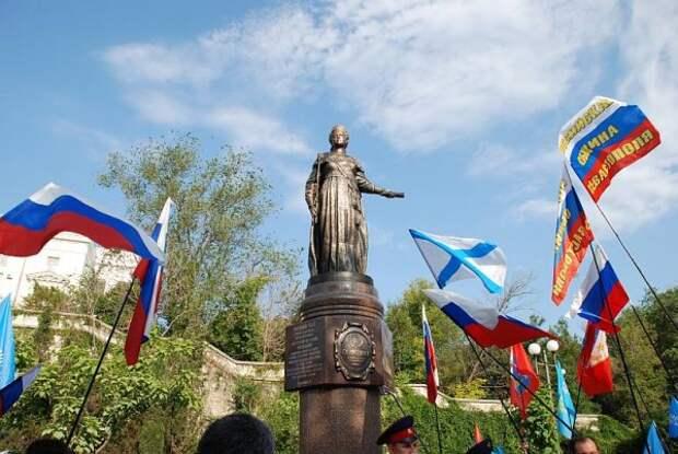 Севастопольцы отпраздновали 10 лет с Екатериной II