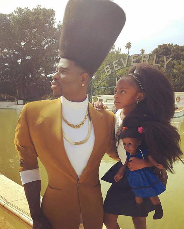 Красота, мода и волосы: Как стильный тандем отца и дочери всего за год покорил Instagram