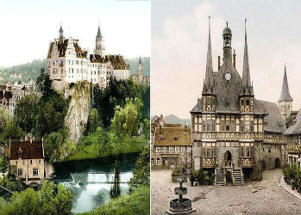 Редкие цветные фотографии довоенной Германии
