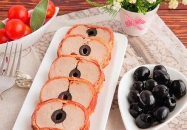 Свинина в чесночно-имбирном соусе