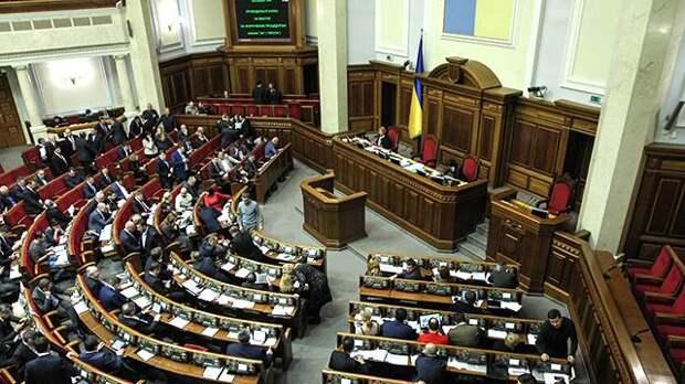 Новый состав Верховной рады впервые отклонил законопроект
