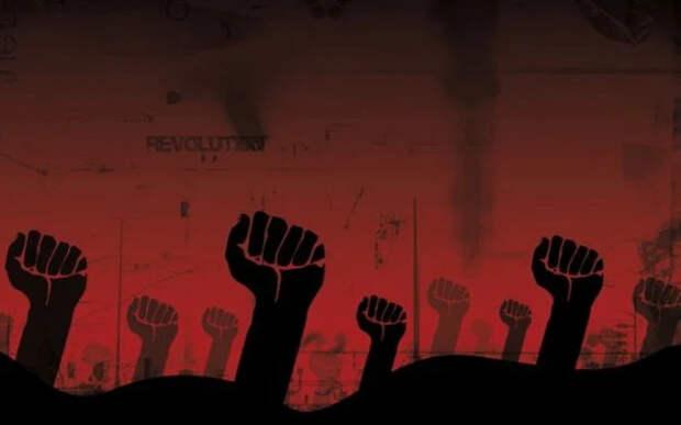 Пожар цветных революций по периметру СССР