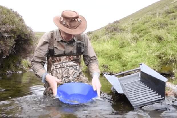 В Шотландии нашли рекордно большой золотой самородок