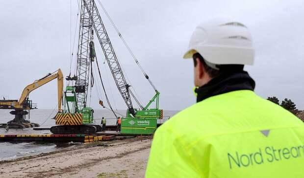 Возобновление строительства «Северного потока-2» начнется 15января