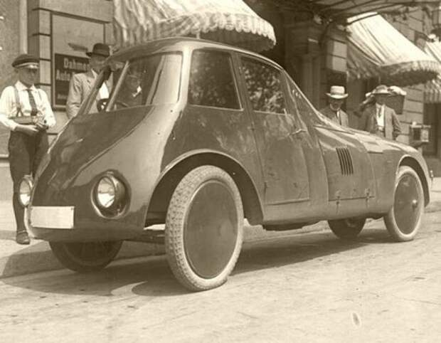 Persu Streamliner (1923) автомир, аэродинамика, из прошлого, конструкция, обтекаемость. формы