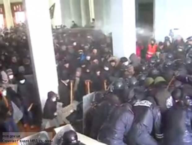 Губернатор Винницы увидел «руку ФСБ» в захвате облсовета