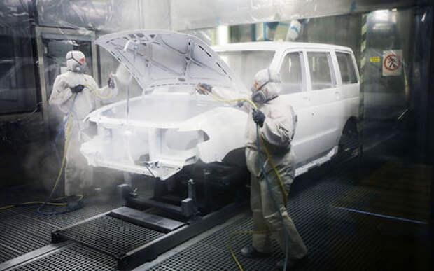 Минпромторг хочет заставить всех красить автомобили российскими красками