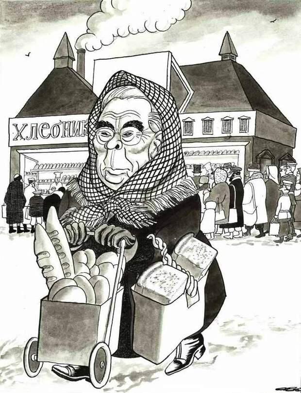 США наконец сняло эмбарго на поставку своего зерна в СССР… (1981 год)