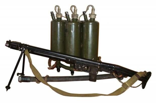 Огнемёт ЛПО-50 в СССР и за рубежом