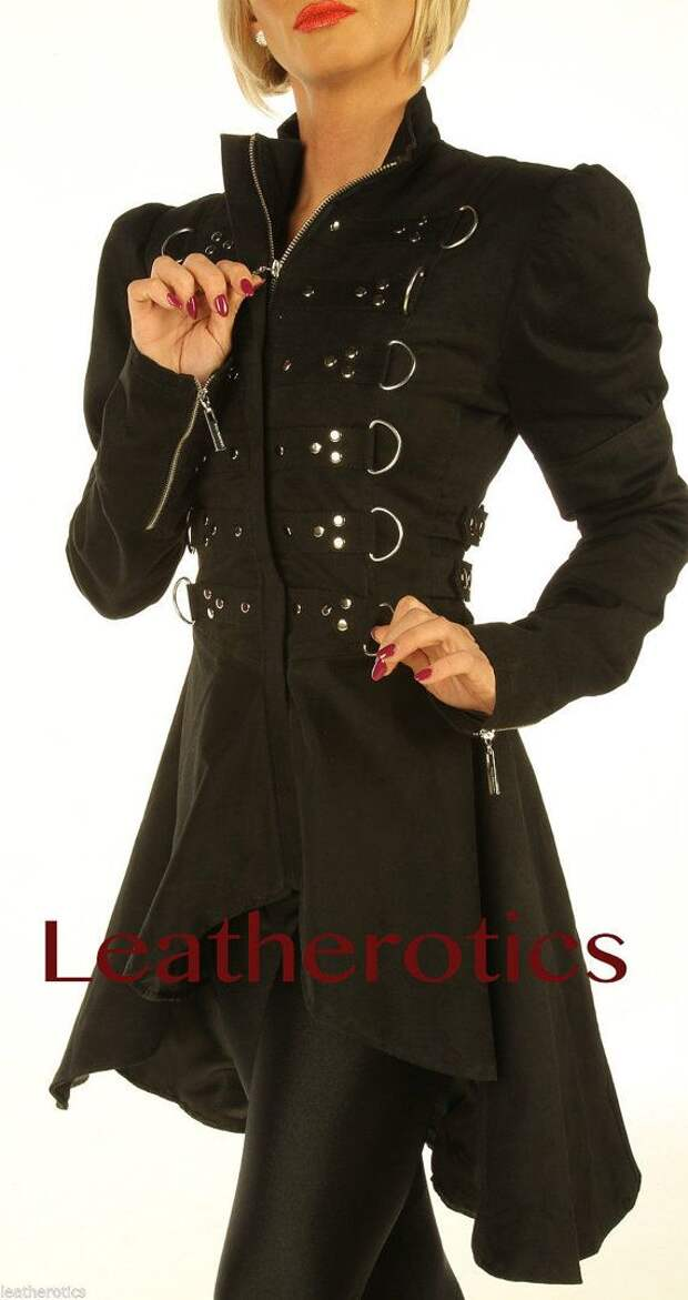 Black Gothic Vintage Costume Victorian Frock by Leatherotics, £75.00