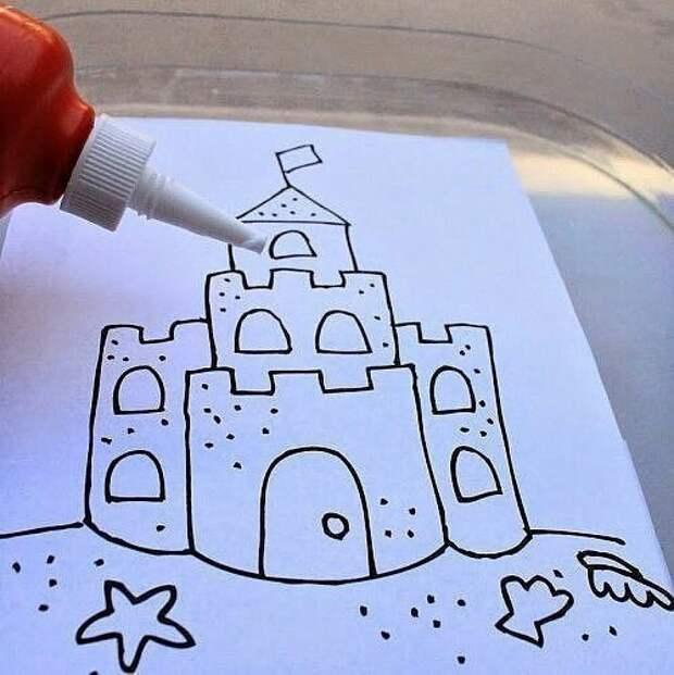 Замок из песка... на память