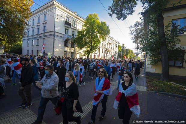 100 дней беларуского протеста.