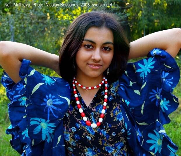 Нелли Мальцева цыганская танцовщица. фото