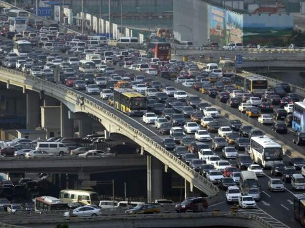 Автопарк Китая насчитывает 154 млн транспортных средств