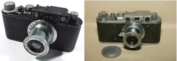 Leica 2, 1932 — «ФЭД», 1934