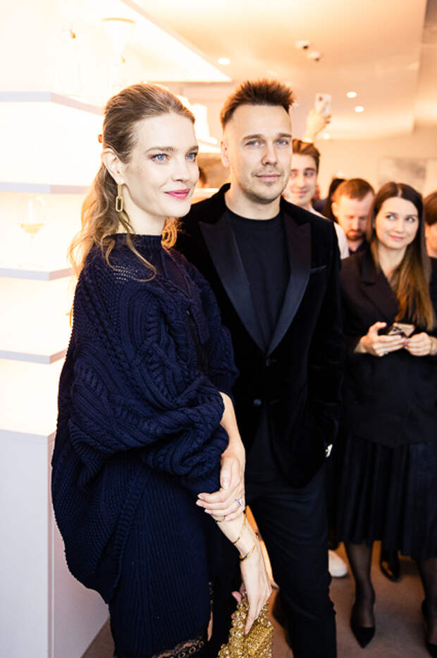 Наталья Водянова и Михаил Зыгарь