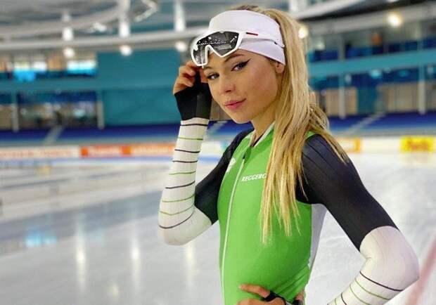 Ютта Лердам— самая красивая конькобежка мира