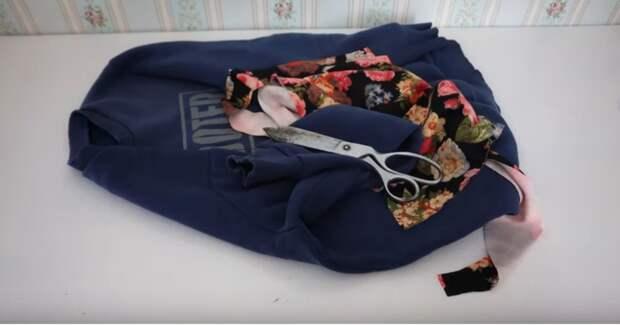 Нужная и полезная вещь на холода из теплой кофты, которую вы уже не носите