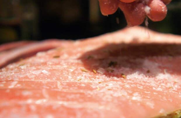 Готовим грудинку вкуснее шашлыка: сочная с хрустящей корочкой