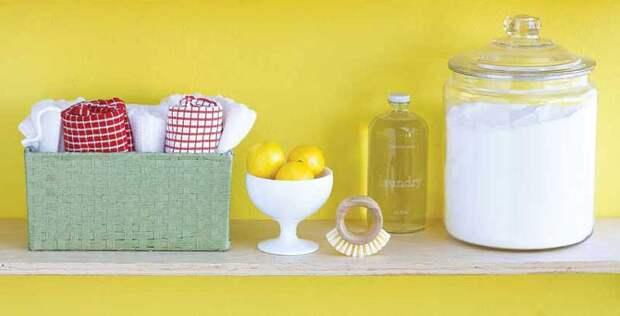 Три натуральных чистящих средства для тех, кто заботится о здоровье домочадцев