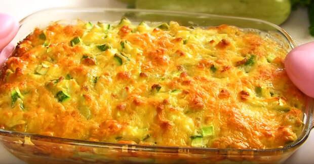 Сочные кабачки с сыром без вреда для фигуры. Рецепт – проще простого!
