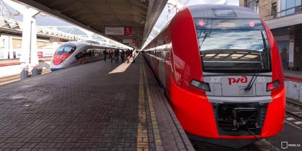 Пассажиры электричек Ленинградского направления смогут бронировать сидячие места
