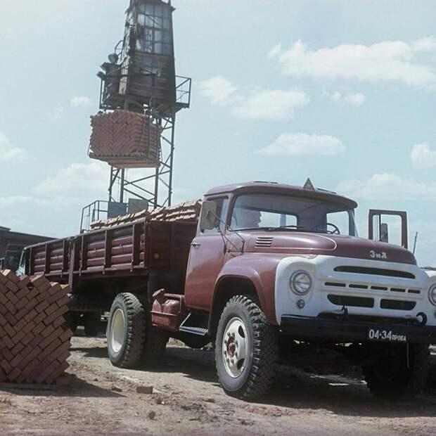 Экспортный вариант ЗиЛ-130В СССР, автомобили, советская техника, советские машины