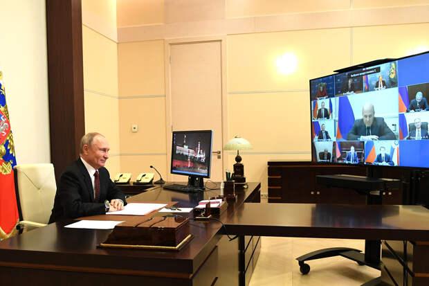 «Это не шуточки»: глава МЭР Решетников разозлил Путина