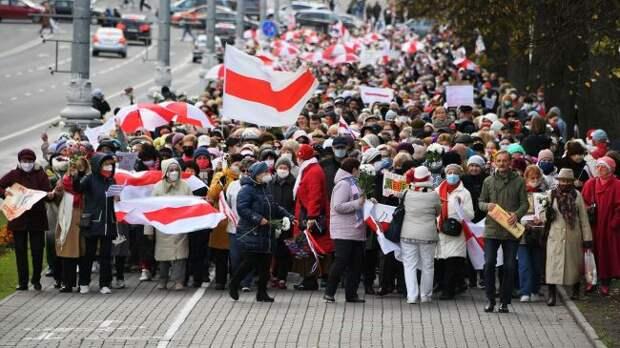 Евросоюз выделит деньги наподдержку протестов вБелоруссии