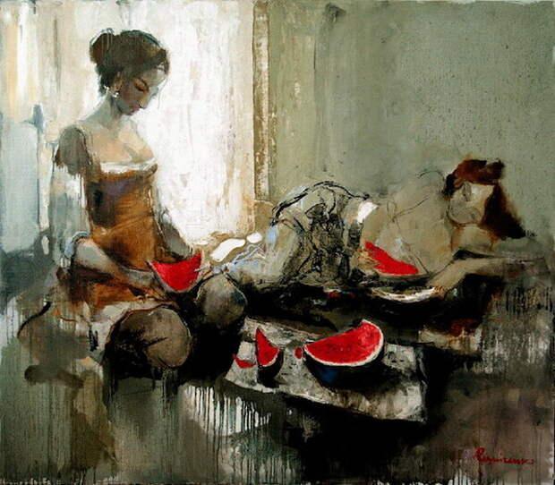 Угощение арбузом (Watermelon Meal) 2008