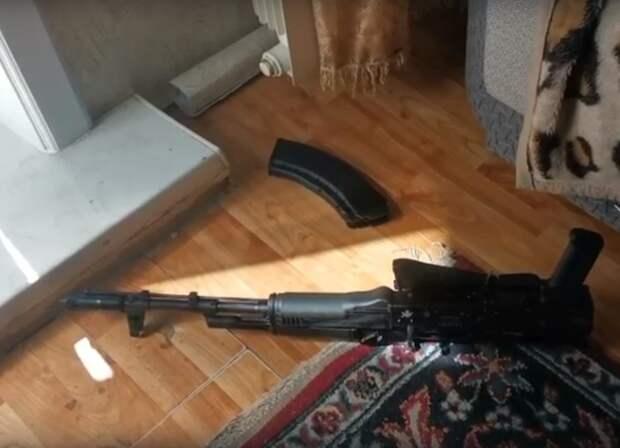 Пьяный ангарчанин устроил стрельбу с балкона жилого дома