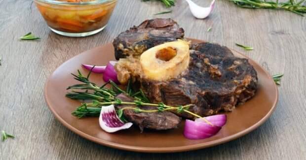 Оссобуко из говядины