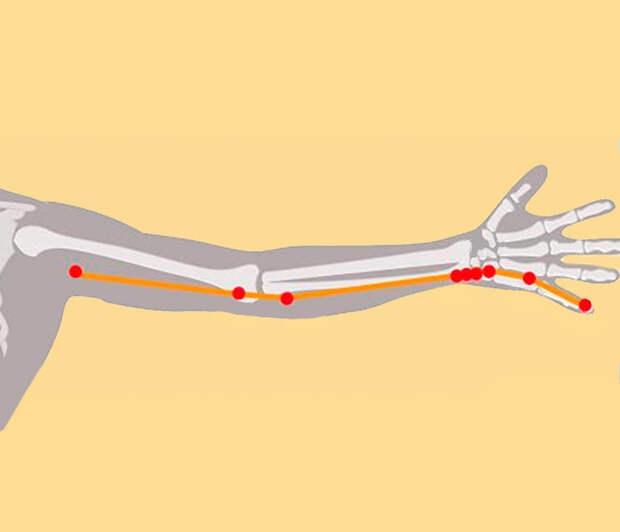 6 волшебных точек на руках от усталости, головной боли и проблем с сердцем